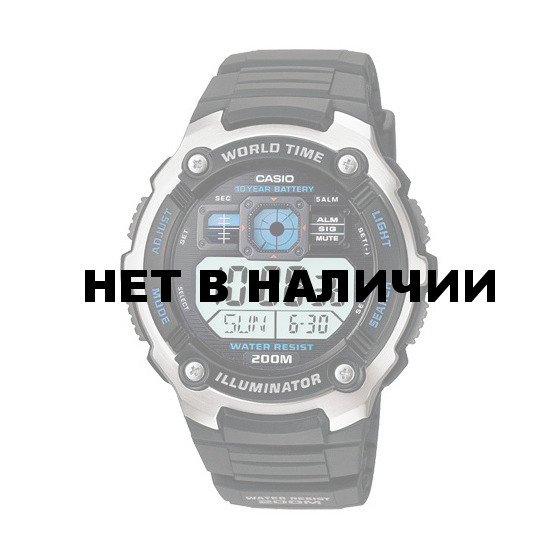 Мужские наручные часы Casio AE-2000W-1A
