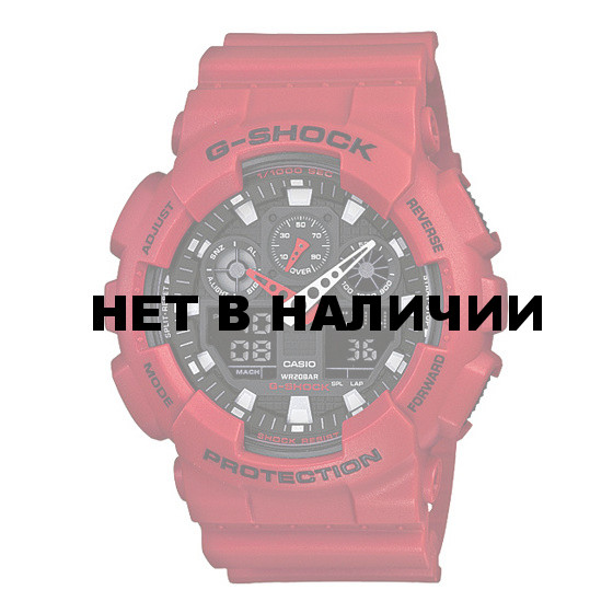 Мужские наручные часы Casio GA-100B-4A (G-Shock)