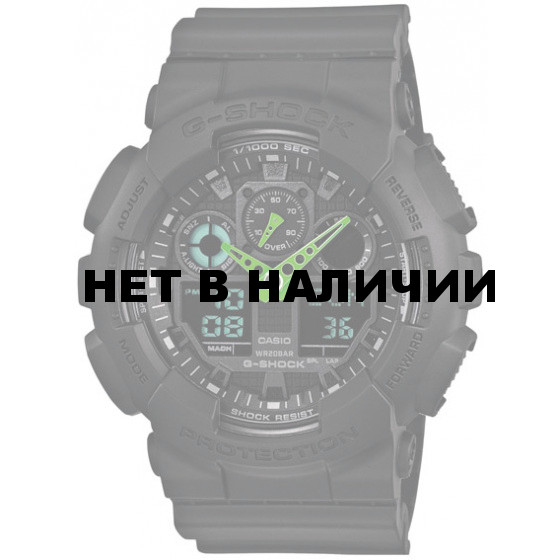 Мужские наручные часы Casio GA-100C-1A3 (G-Shock)