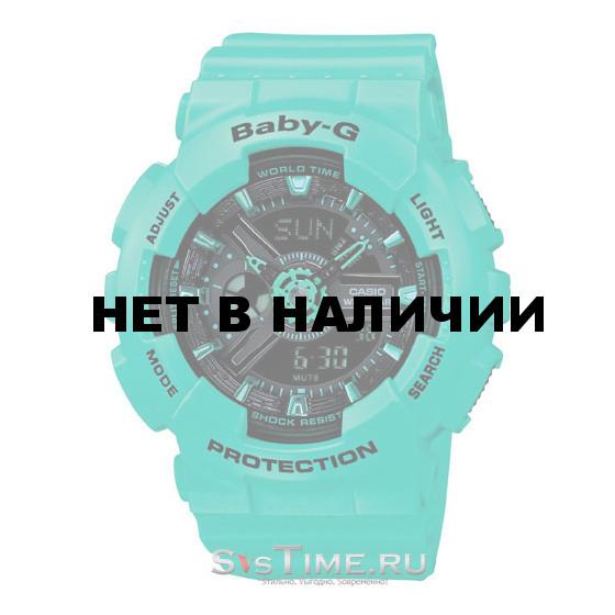 Женские наручные часы Casio BA-111-3A (Baby-G)