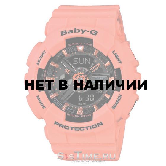 Женские наручные часы Casio BA-111-4A2 (Baby-G)