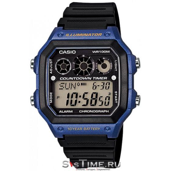 Мужские наручные часы Casio AE-1300WH-2A