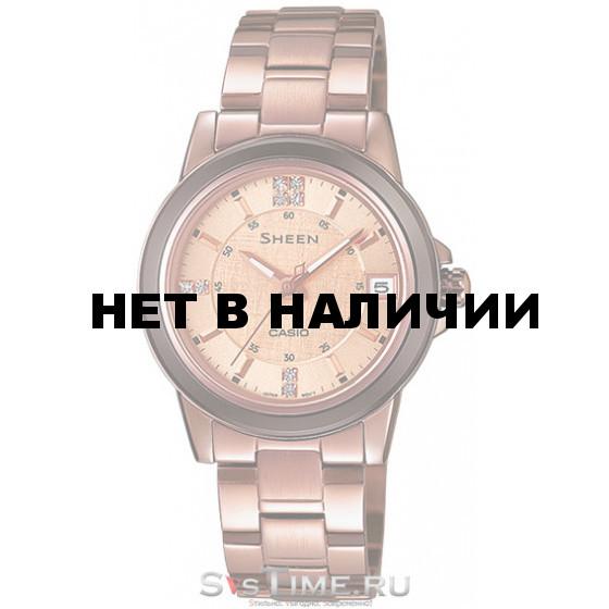 Женские наручные часы Casio SHE-4512BR-9A