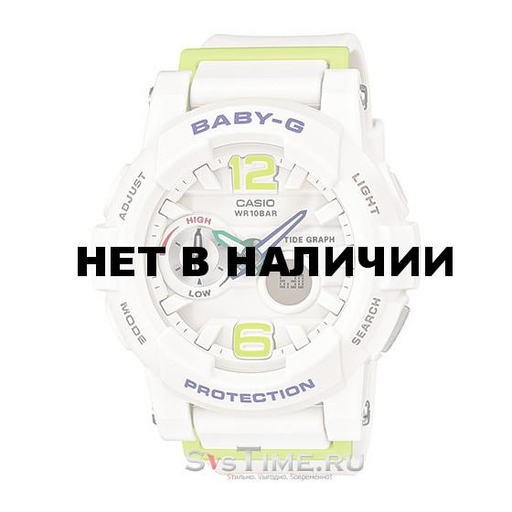 Женские наручные часы Casio BGA-180-7B2 (Baby-G)
