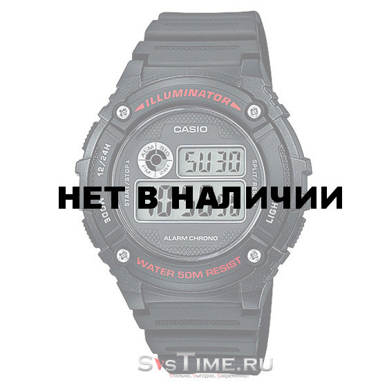 Мужские наручные часы Casio W-216H-1A