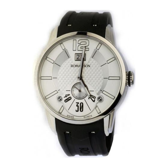 Мужские наручные часы Romanson TL 9213 MW(WH)