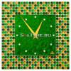 Часы настенные Glass Deco S-M5