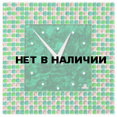Часы настенные Glass Deco S-M6