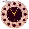 Настенные часы Glass Deco R-B6