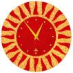 Настенные часы Glass Deco R-L4