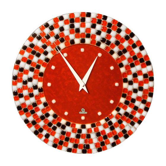 Настенные часы Glass Deco R-W2