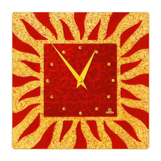 Настенные часы Glass Deco S-L4
