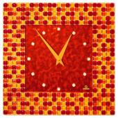 Настенные часы Glass Deco S-M12