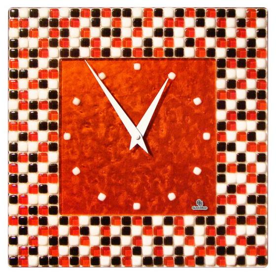 Настенные часы Glass Deco S-W2