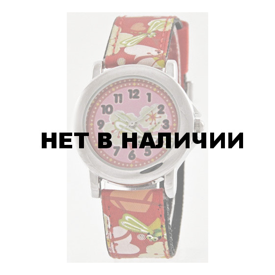 Детские наручные часы Тик-Так Н211-4 вишня