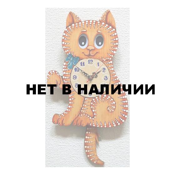 Настенные часы Бризоль 08-00 Кошка