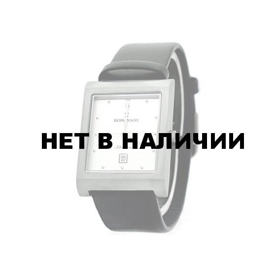 Мужские наручные часы Romanson DL 0581B MW(WH)