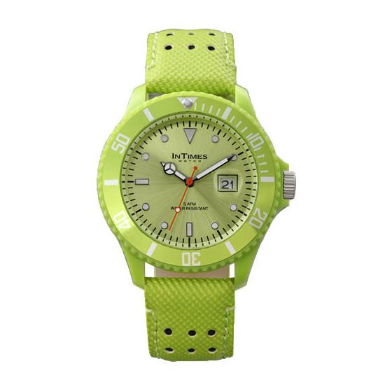 Наручные мужские часы InTimes IT-057L Lime Green