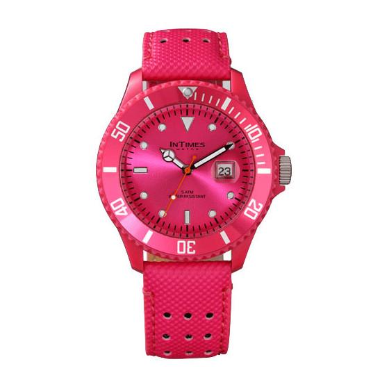 Наручные мужские часы InTimes IT-057L Flora Pink