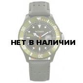 Наручные мужские часы InTimes IT-057L Olive Green