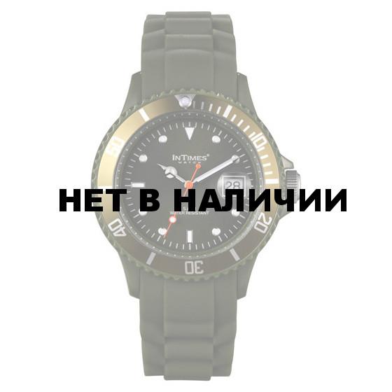 Наручные часы унисекс InTimes IT-044 Olive Green