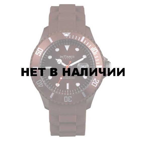 Унисекс наручные часы InTimes IT-057 Dark Brown