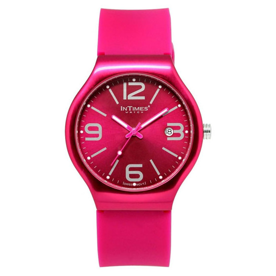 Наручные часы унисекс InTimes IT-088 Fuchsia