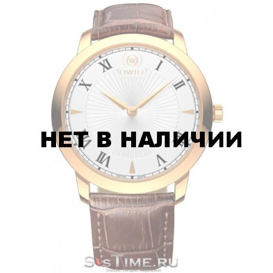 Наручные мужские часы Qwill 6000.01.01.1.11A
