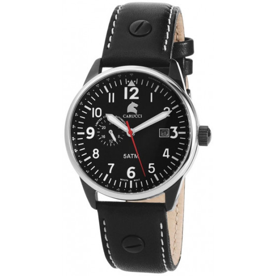 Наручные часы мужские Carucci CA2180BK-WH
