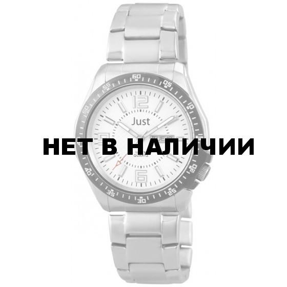 Наручные часы мужские Just 48-S10238-WH