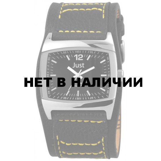 Наручные часы мужские Just 48-S10628-BK