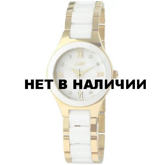 Наручные часы женские Just 48-S0347WH-GD
