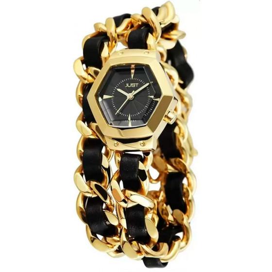Наручные часы женские Just 48-S2244-GD-BK