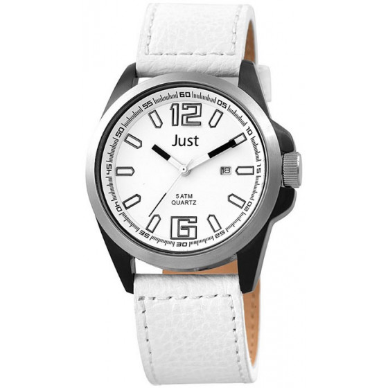 Наручные часы мужские Just 48-S10252BK-WH