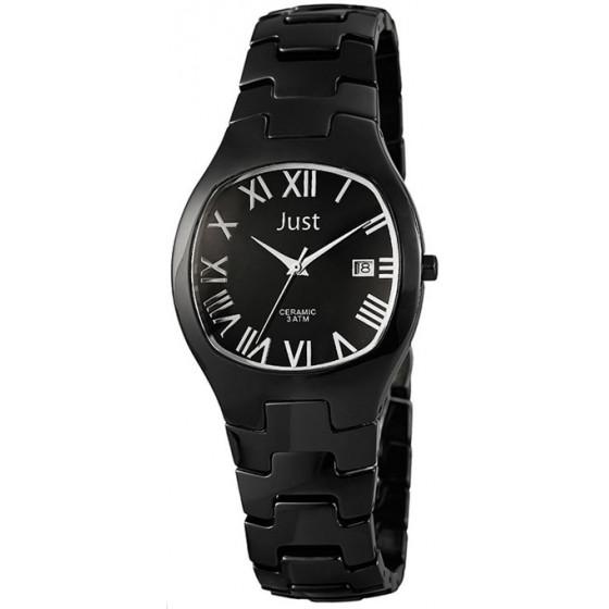 Наручные часы унисекс Just 48-S2535-BK