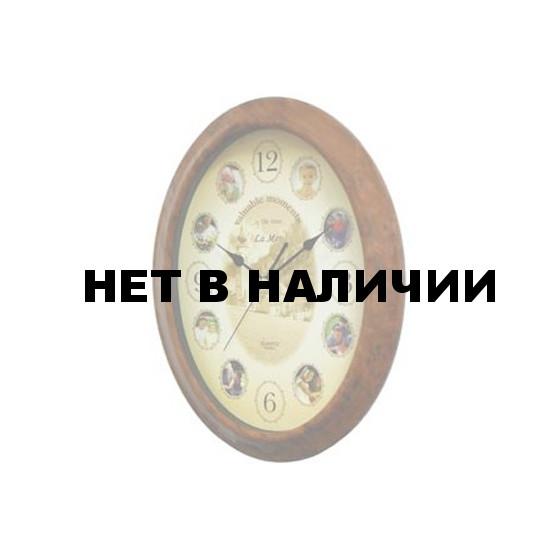 Настенные часы La Mer GM002-BRN