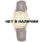 Женские наручные часы Casio LTP-V001GL-9B