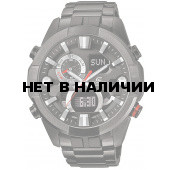 Мужские наручные часы Casio ERA-201BK-1A (Edifice)