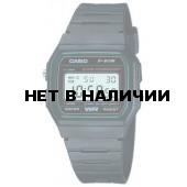 Мужские наручные часы Casio F-91W-3S