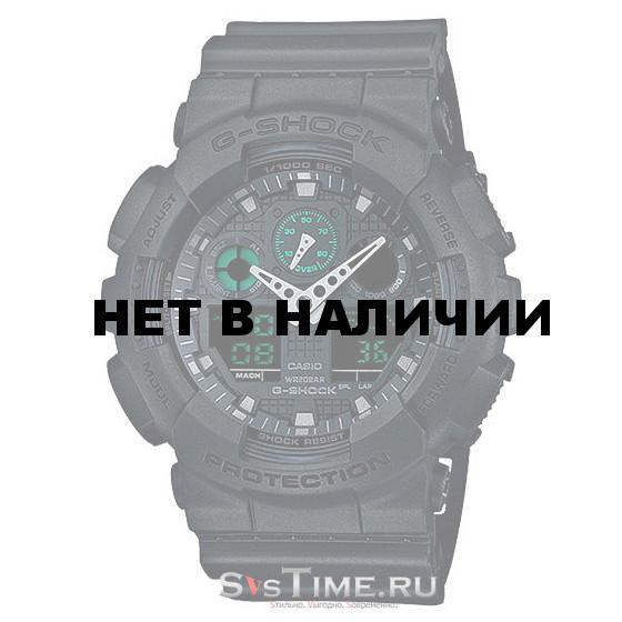 Мужские наручные часы Casio GA-100MB-1A (G-Shock)