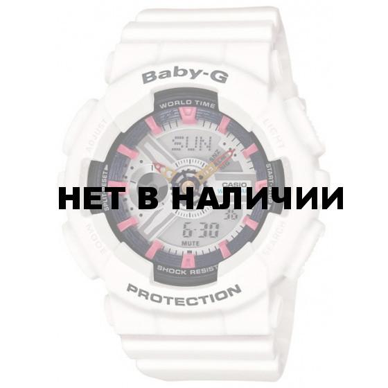 Мужские наручные часы Casio BA-110SN-7A (Baby-G)
