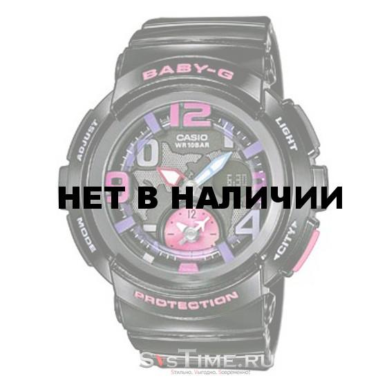 Женские наручные часы Casio BGA-190-1B (Baby-G)