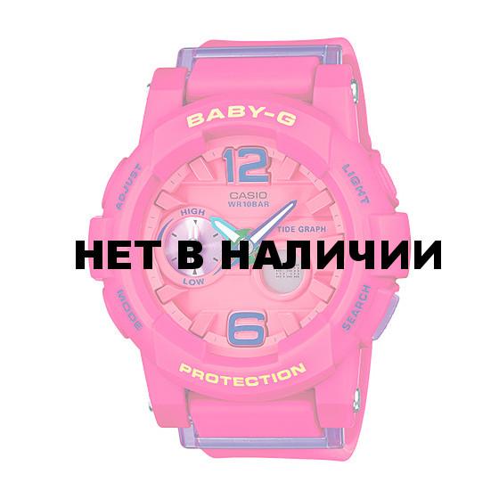 Женские наручные часы Casio BGA-180-4B3 (Baby-G)