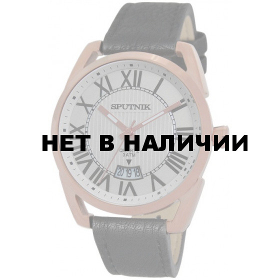 Мужские наручные часы Спутник М-400560/8 (сталь)