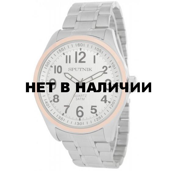 Мужские наручные часы Спутник М-996440/6 (сталь)