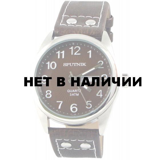 Мужские наручные часы Спутник М-400610/1 (корич.)