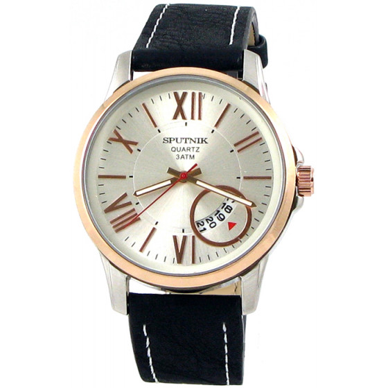 Мужские наручные часы Спутник М-400651/6 (сталь,роз.оф.)