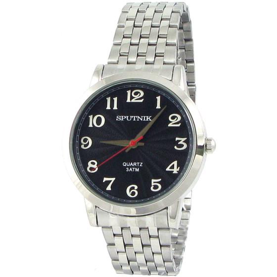 Мужские наручные часы Спутник М-996062/1 (черн.)