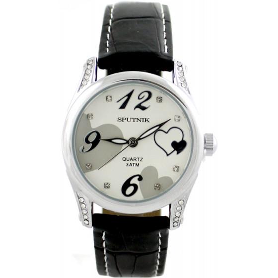 Женские наручные часы Спутник Л-300341/1 (сталь) ч.р.
