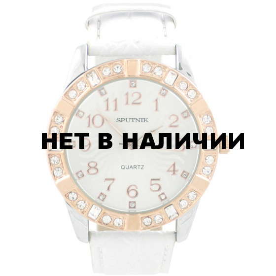 Женские наручные часы Спутник Л-300540/6 (сталь) б.р.
